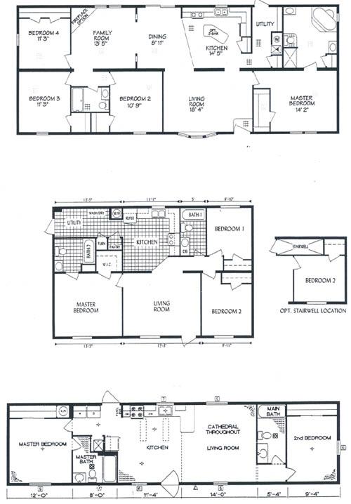 Redman mobile home floor plans unique house plans for Oakwood floor plans